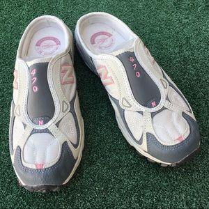New Balance All Terrain Sport Slip Sneakers Gray 9